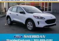 2020 ford Escape 0 Financing Awesome New 2020 ford Escape S Fwd Sport Utility