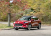 2020 ford Escape 2.0 Ecoboost Elegant 2020 ford Escape is Much Improved—and Surprisingly Quick