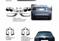 2020 ford Escape 2020 Luxury Details About Exhaust Pipes Tips for Bmw X6 E71 3 0d 5d 5i 4