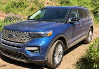 2020 ford Escape 360 Camera Fresh 2020 ford Explorer Returns to Rwd Improving Safety Performance