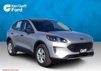2020 ford Escape 6 Cyl Awesome New 2020 ford Escape S Awd