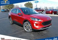2020 ford Escape 6 Cyl Inspirational New 2020 ford Escape Sel Awd
