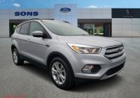 2020 ford Escape Australia Elegant Certified Pre Owned 2018 ford Escape Se
