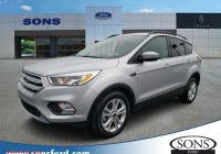 2020 ford Escape Australia Lovely Certified Pre Owned 2018 ford Escape Se