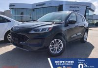 2020 ford Escape Canada Inspirational Certified Pre Owned 2020 ford Escape Se Awd Heated Seats touchscreen Radio