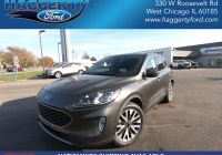 2020 ford Escape Commercial Lovely New 2020 ford Escape Titanium Suv In Glen Ellyn F