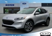 2020 ford Escape Curb Weight Unique New 2020 ford Escape Sel