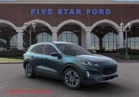 2020 ford Escape Dark Persian Green Elegant 2020 ford Escape Sel