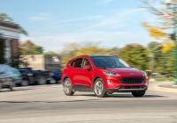 2020 ford Escape Fully Loaded New ford Escape Features and Specs