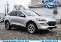 2020 ford Escape Fully Loaded New New 2020 ford Escape Titanium Hybrid with Navigation