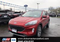 2020 ford Escape How Many Seats Beautiful New 2020 ford Escape Titanium Awd with Navigation & Awd