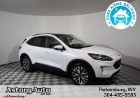 2020 ford Escape How Many Seats Luxury New 2020 ford Escape Titanium with Navigation & Awd