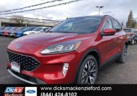 2020 ford Escape Lane Keeping System Inspirational New 2020 ford Escape Sel Awd Awd