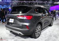 2020 ford Escape New York Auto Show Luxury ford – Driverbase