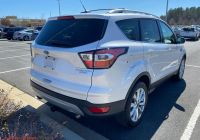 2020 ford Escape Nhtsa Elegant Pre Owned 2017 ford Escape Titanium Fwd Suv