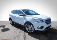 2020 ford Escape Nhtsa Fresh Pre Owned 2017 ford Escape Se