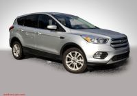 2020 ford Escape Nhtsa Inspirational Pre Owned 2019 ford Escape Se Suv In Wilmington Xrd