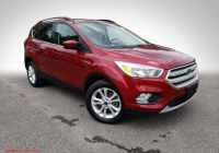 2020 ford Escape Nhtsa Luxury Pre Owned 2018 ford Escape Se Fwd Suv
