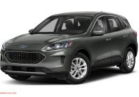 2020 ford Escape Options Elegant 2020 ford Escape Se 4dr Front Wheel Drive Pricing and Options