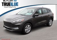 2020 ford Escape Options Elegant New 2020 ford Escape S Fwd Sport Utility