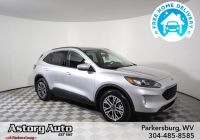 2020 ford Escape Rear Legroom Elegant New 2020 ford Escape Sel with Navigation & Awd