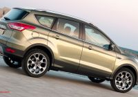 2020 ford Escape Uk Elegant Exterior New ford Kuga Features