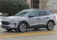 2020 ford Escape Uk Luxury 2020 ford Escape Spied Inside and Out Hybrid Confirmed