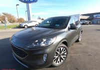 2020 ford Escape with Sunroof Fresh New 2020 ford Escape Titanium with Navigation & Awd