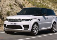 2020 Land Rover Range Rover Beautiful the 2020 Range Rover Sport Price and Review