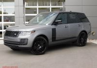 2020 Land Rover Range Rover Elegant New 2020 Land Rover Range Rover P525 Hse with Navigation & 4wd
