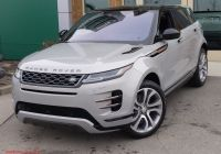 2020 Land Rover Range Rover Fresh New 2020 Land Rover Range Rover Evoque First Edition with Navigation & Awd