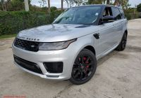 2020 Land Rover Range Rover Lovely New 2020 Land Rover Range Rover Sport Hse Dynamic with Navigation & 4wd