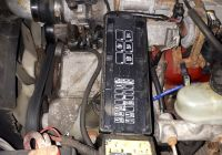 94 ford Ranger Problems Awesome ford Ranger Questions where is the Fuel Pump Relay