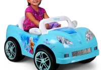 A Car for Kids Luxury Kids Ride On Convertible Car 6 Volt Battery Powered Disney Frozen