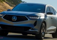Acura Suvs Lovely Acura Mdx Prototype Previews A Sportier and More Upscale