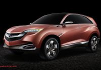 Acura Suvs New Acura Concept Suv X Pact Suv Headed for Chinese