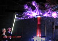 Are Tesla Coils Dangerous Awesome Five Foot Tesla Oudin Coil Making One