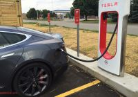 Are Tesla Superchargers Free Fresh Supercharging A Tesla Model S at A Grocery Store