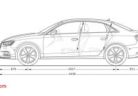 Audi A3 Dimensions Lovely Sideview Audi A3 Saloon A3 Audi Configurator Uk