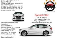 Auto Lease Specials New Bmw X5 M Sport Deal