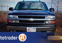 Autotrader Com Used Cars Luxury 2000 2006 Chevrolet Tahoe Suv Used Car Review