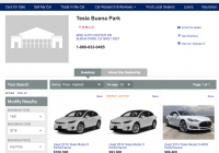 Autotrader Used Cars Luxury Tesla Expands Used Car Business Online with Inventories On
