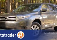 Autotrader Used Cars Unique 2008 2013 toyota Highlander Used Car Review