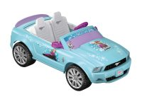 Battery Cars for Girls Fresh Power Wheels 12v Battery toy Ride On Disney Frozen Mustang