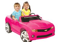 Battery Operated Cars for toddlers Best Of Kid Motorz Chevrolet Camaro Battery Powered Riding toy Pink