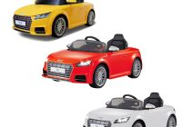 Battery Operated Cars New Battery Operated Car Audi Tts Roadster Zp8006 Red Yellow White