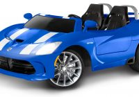 Battery Powered Cars Elegant Kid Trax Dodge Viper Srt 12v Battery Powered Car