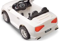Battery Powered Cars for Kids Lovely Pacific Cycle Convertible Sports Car 12v Battery Powered White
