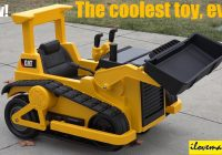 Battery Ride On toys Fresh the Coolest toy Truck Ever Battery Operated Caterpillar Bulldozer