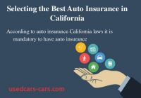Best Auto Insurance California Fresh How to Choose Best and Cheap Auto Insurance In California